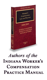 Indiana Workers Comp Practice Manual