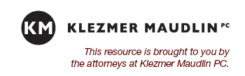Brought to you by Klezmer Maudlin PC